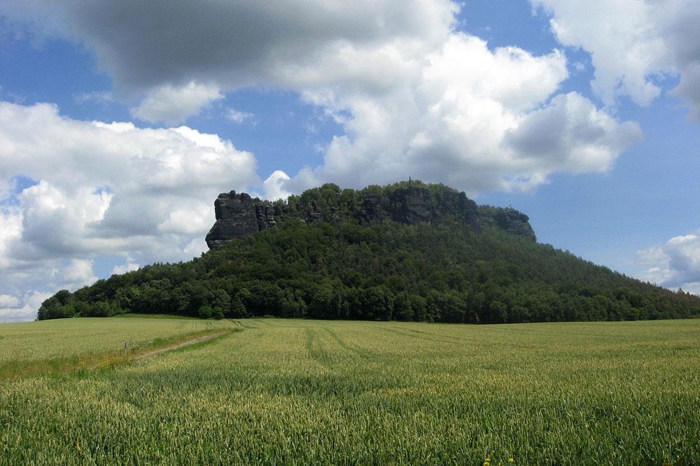 Lilienstein in der Sächsischen Schweiz