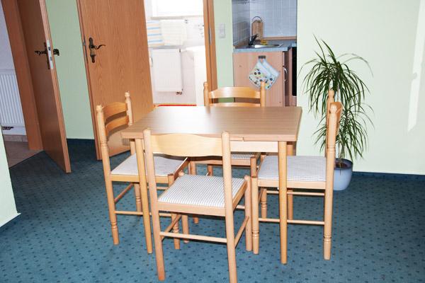 Ferienwohnung mit Sitzecke
