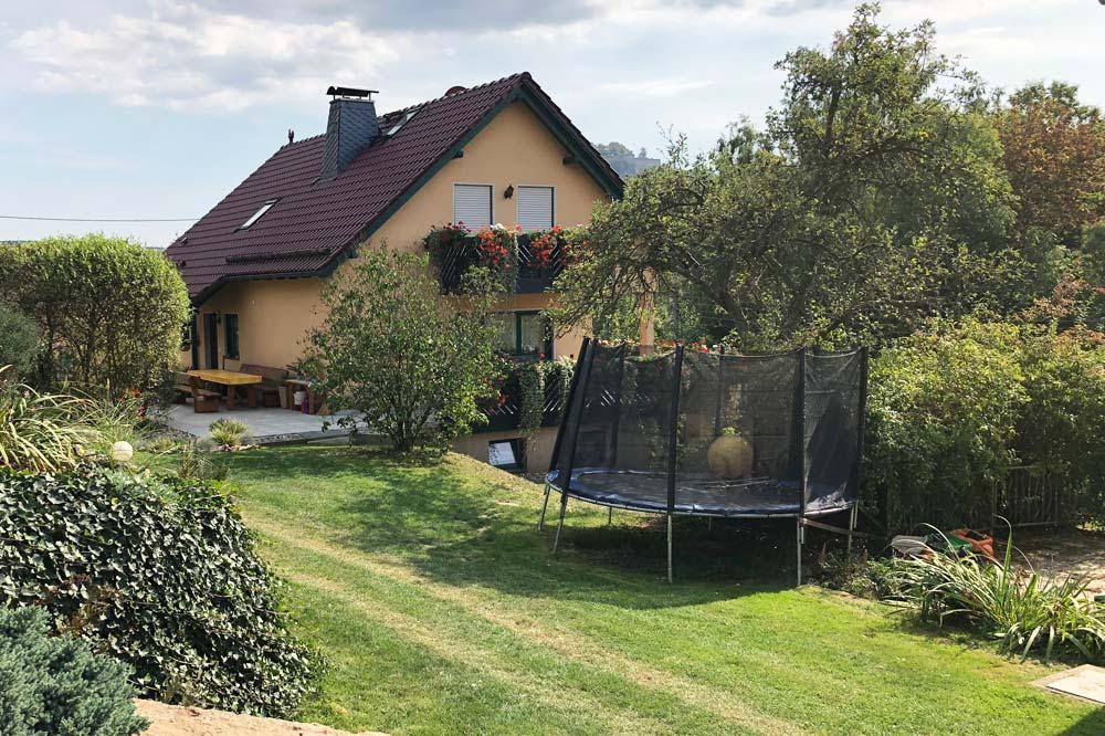 Ferienwohnung & Ferienhaus Richter - Gartentrampolin für Kinder